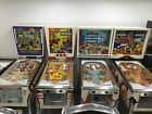Gottlieb's Pinball Machines El Dorado, Square Head, Quick Draw, Big Brave