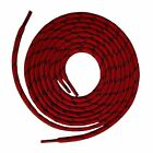 Red with Black Kevlar  Heavy Duty Reinforced Shoe Boot Laces Bootlaces New