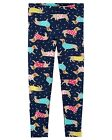 New Carters Navy Blue Leggings Dachshund Dog NWT 2T 3T 4T 5T 5 6 7 8 Girl Puppy