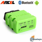Elm327 Bluetooth V1.5 Obd2 Obdii Adaptor Scanner For Android Torque Code Reader