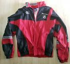 Umbro Mens Soccer Jacket Size L Windbreaker Full Zipper Free Shipping