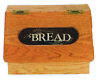 Kitchen / Cooking - Oak Flip Top Bread Box - Amish Made in USA