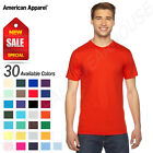 NEW American Apparel 100% Cotton Fine Unisex Jersey XS-3XL T-Shirt M-2001W