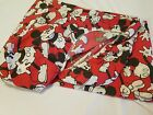 Fitted Twin Bed Sheet Mickey Mouse Disney 39x75 RedWhite