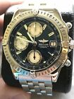 Breitling Chronomat, A13352, Stainless, Blue, EXCELLENT, Guaranteed AUTHENTIC