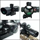 Tactical Hunting Rifle Scope 10x40 Dual illuminated Mil dot Reticle Black Matte