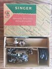 Vintage Singer Sewing Machine LOT Attachments Parts Needles Thread Containers