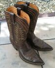 Cowtown Chocolate Brown Cowboy Boots 12D 12M