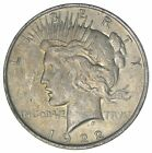 Early 1922 Peace Silver Dollar 90 US Coin 818