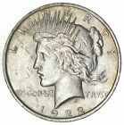 Early 1922 Peace Silver Dollar 90 US Coin 795