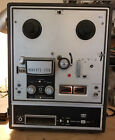 Roberts 1630 8L 1725 8L Reel to Reel 8 Track Player Powers On