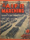 THE AIF IS MARCHING 1940S VINTAGE SHEET MUSIC AUSTRALIA M243