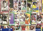 40 1991 University of Michigan Wolverines Alumni Cards NODUPES Larkin Harbaugh
