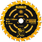DeWalt Extreme GP Saw Blades 165mm 40T 20mm
