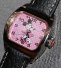 Disney Women's Minnie Mouse Pink Dial Watch SII MU1113 NEW BATTERY!