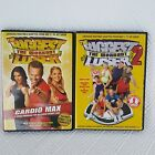Biggest Loser Fitness Workout DVDs Lot of 2 Bob Harper Cardio Max Step It Up