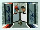 MIKE PIAZZA JOHNNY BENCH 13 25 Ultimate Dual Signature Auto HOF Hall Of Fame