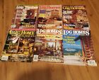 Lot of 6 Log Home Design Ideas-Magazines-Back Issues-1997 &1998