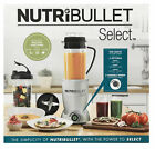 Nutribullet Select Blender/Mixer 950Watt 5 Speed 10 Piece Food Fruit Juice Maker
