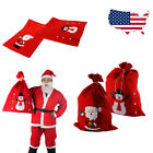 Large Santa Sack Snowman Christmas Gift Present Stocking Bag Red Xmas Decoration