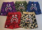 Mens A Bathing Ape Bape Color Camo First Camo Shark Shorts L XL 2XL