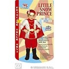 Girls Little Snow Prince Child Costume For Christmas Panto Nativity Fancy Dress