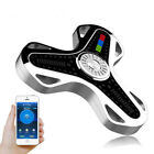 LED Bluetooth Speaker Spin Fidget Music Fidget Spinner EDC Gyro Hand Toy silver
