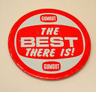 The Best There is Gumout Carburetor Engine Cleaner Racing Car 1970s Button Pin