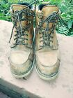 RED WING Irish Setter 6 Wedge Soft Toe Work Boots Leather Used 024