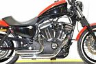 Chrome Staggered Shortshots Short Shots Exhaust Drag Pipes Harley Sportster 14+