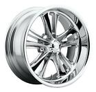 CPP Foose F097 Knuckle Wheels 17x8 ft + 18x8 rr fits CHEVY CHEVELLE SS IMPALA