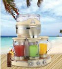 Party Blender Frozen Margarita Drink Maker 3 Separate Stations Blending Machine