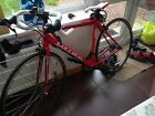 New but only ridden once Carrera Zelos road racing bike 20 inch Frame