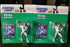 2 Dallas Troy Aikman Starting Lineup NFL Action Figure Kenner 1996 ~ White Shirt
