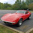 1968 Chevrolet Corvette Coupe T Top 1968 Chevrolet Corvette Coupe 4Spd Red on Red A C NO RESERVE