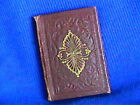 Antique 1800s Book DEW DROPS Miniature in tight condition 15x225 daily verses