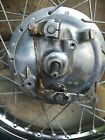 HONDA CB350 350 FRONT WHEEL with AXLE DUAL TWIN LEADING SHOE CAFE BOBBER