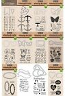 NEW Hero Arts Clear Polymer Stamp and Cut Die Sets Choose from 12 Styles