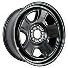 02344 OEM Reconditioned Steel Wheel Fits 2007-2016 Dodge Charger Black Painted