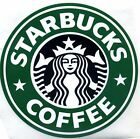 AUTHENTIC STARBUCKS LARGE OLD RETIRED LOGO STICKER 3