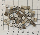 50 1 Drilled Deer Antler Beads Jewelry Necklaces Crafts