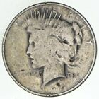 Early 1924 Peace Silver Dollar 90 US Coin 216