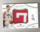 NIKOLA VUCEVIC 12 13 Immaculate Patch Auto RC Rookie #PP-NV SN #48 75