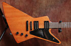 Epiphone Goth 1958 Explorer, Refinished top, with Epiphone Case