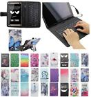 For Acer Iconia One 8 B1-810 B1 810 USB Andriod Tablet Keyboard Case Cover Flip
