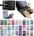 For Asus MEMO Pad 8 ME181 USB Andriod Tablet Keyboard Case Cover Flip Stand Bag