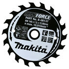 Makita MAKFORCE Wood Cutting Saw Blade 185mm 24T 15.8mm