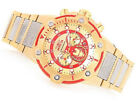 Invicta Marvel 50mm Bolt IRON MAN Avenger's Limitd Edition GoldTone Red Dial Wat