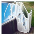Confer Plastics Above Ground Swimming Pool Entry System w Steps