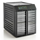 Excalibur RES10 10 Tray Dehydrator With Digital Controller Timer, Black